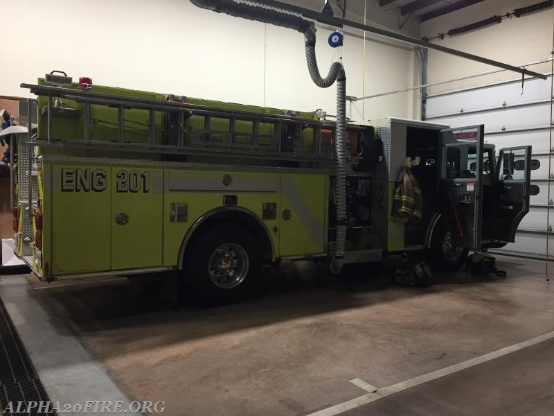 Transfer/Standby to Pleasant Valley Volunteer Fire Company - Alpha