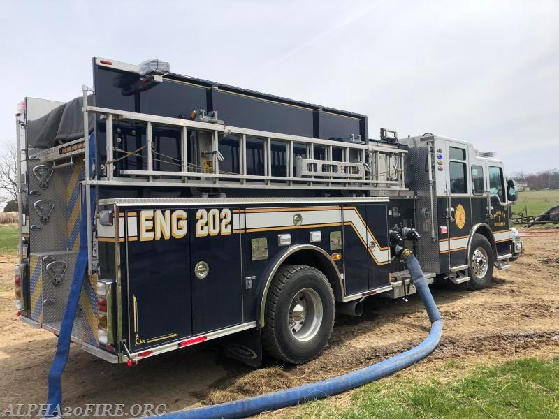 Shed Fire - Kindig Road - Alpha Fire Company #1